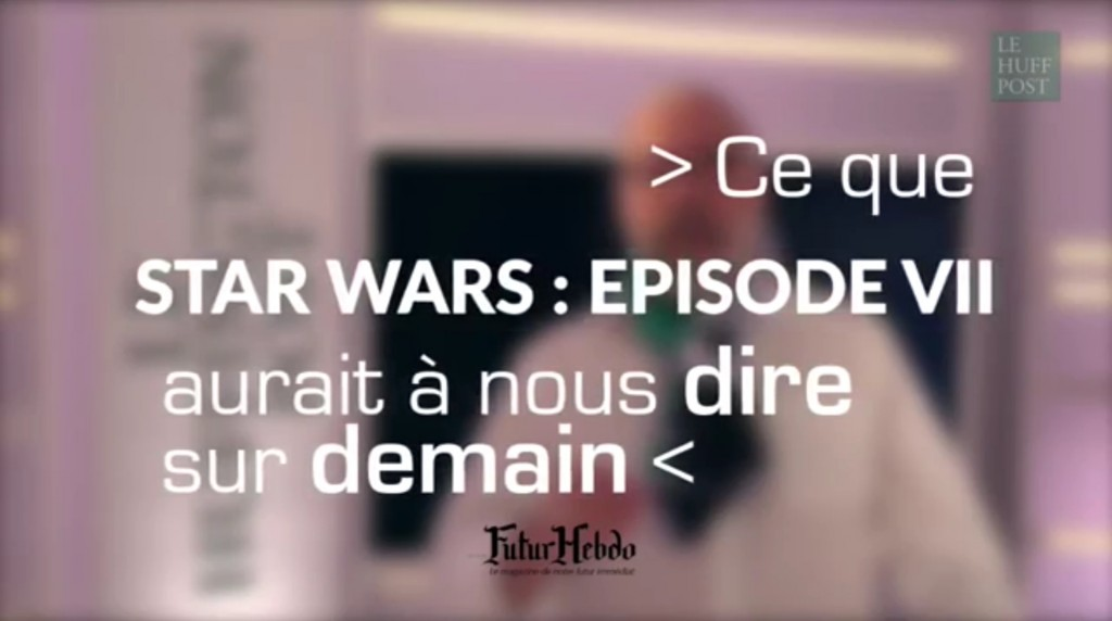 La chronique Cinéma & Prospective de FuturHebdo en vidéo avec le Huffington Post France #2