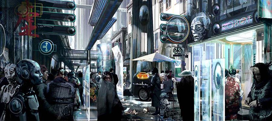 Les robots de l'aube   28/03/2066