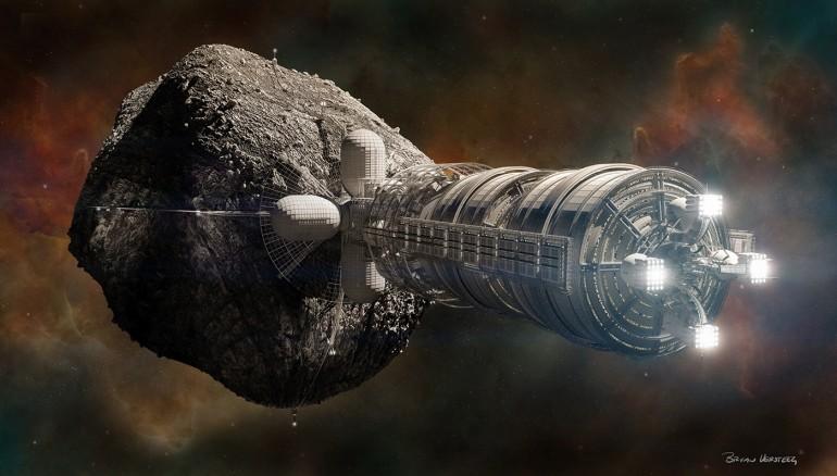 Un tsunami provoqué par la chute d'un astéroïde exploité en orbite terrestre | 07/03/2066