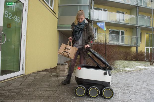 Mon livreur de pizza est un robot | Le Monde – RP