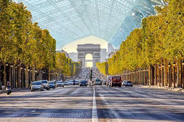 les Champs-Élysées climatisés | 04/07/2067
