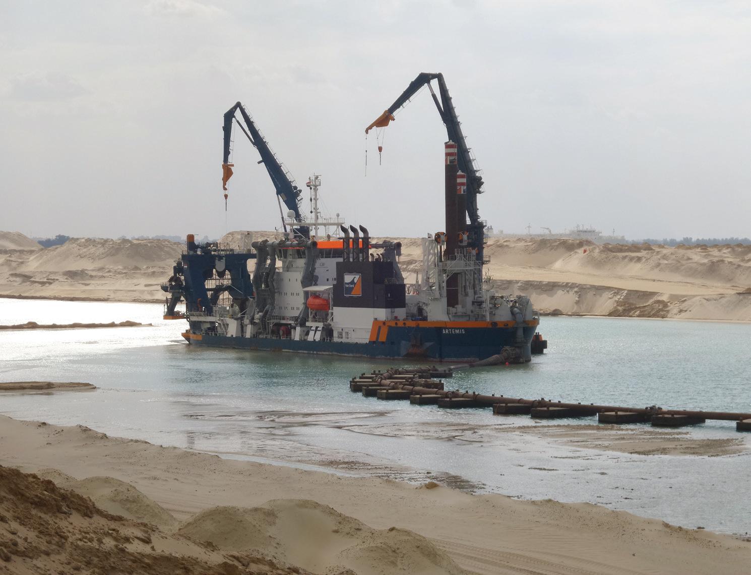 Le canal de Suez n'est plus navigable pour les plus gros des navires | 22/01/2068