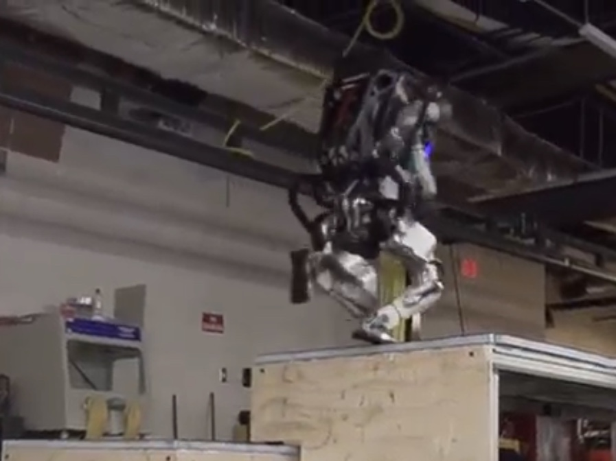 Humanity's Doomsday Update: The Boston Dynamics Robot Can Now Do Parkour | Barstool Sports – RP
