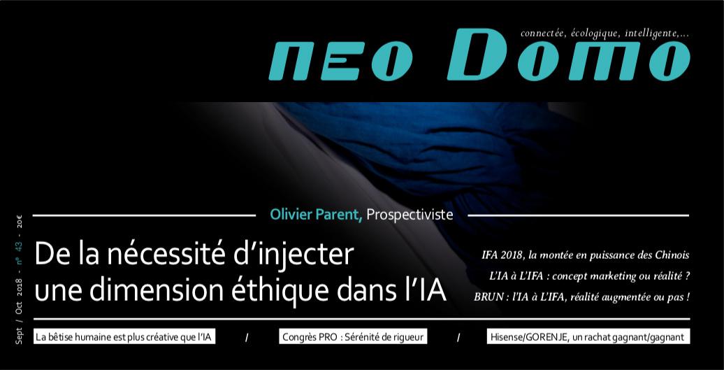 Interview | Olivier Parent | Neo Domo