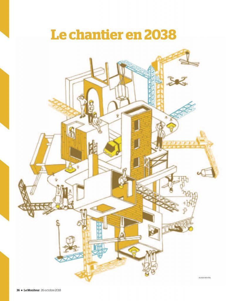 Ouvriers augmentes, rois des chantiers | Antoine Metzger – NGE | Le Moniteur | 26/10/2038