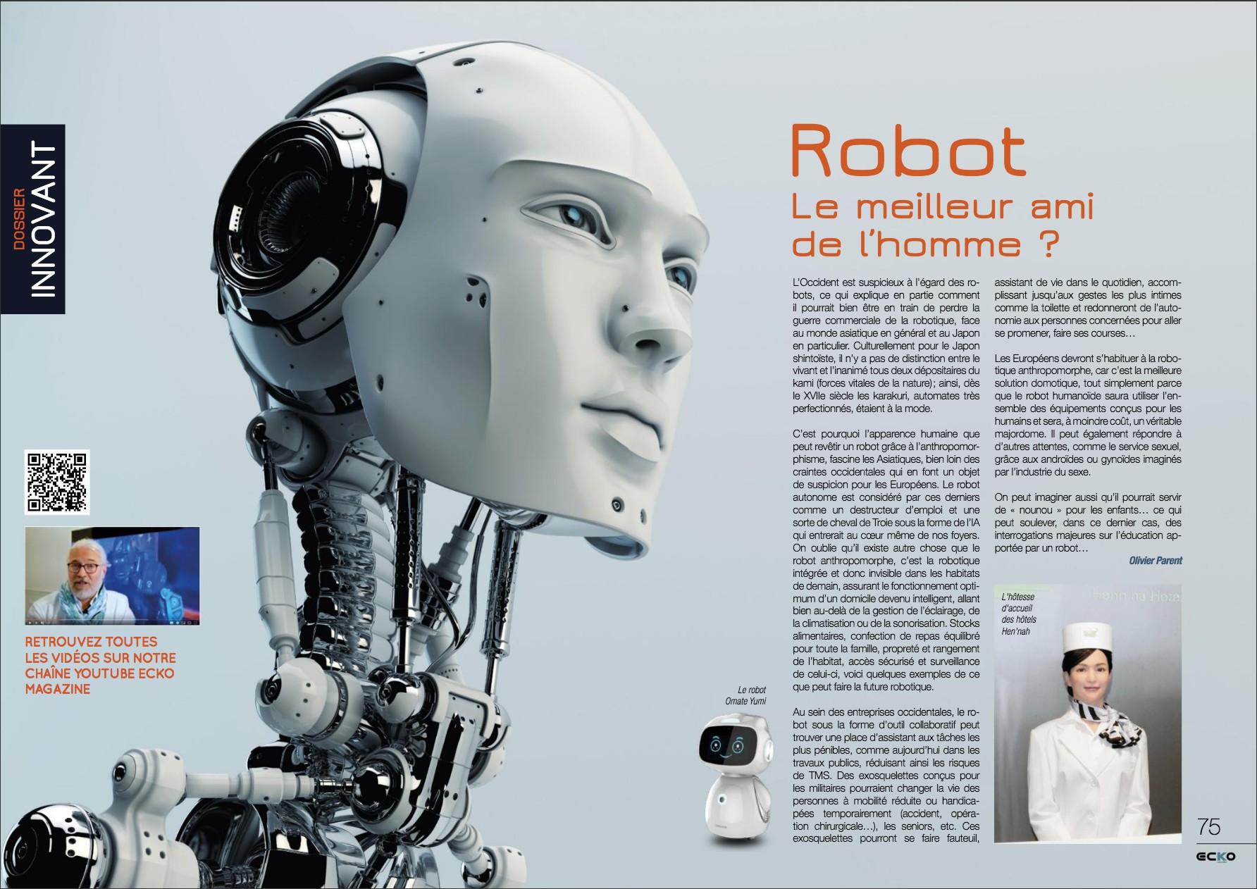 Ce que les ROBOTS nous disent sur demain | ECKO MAG