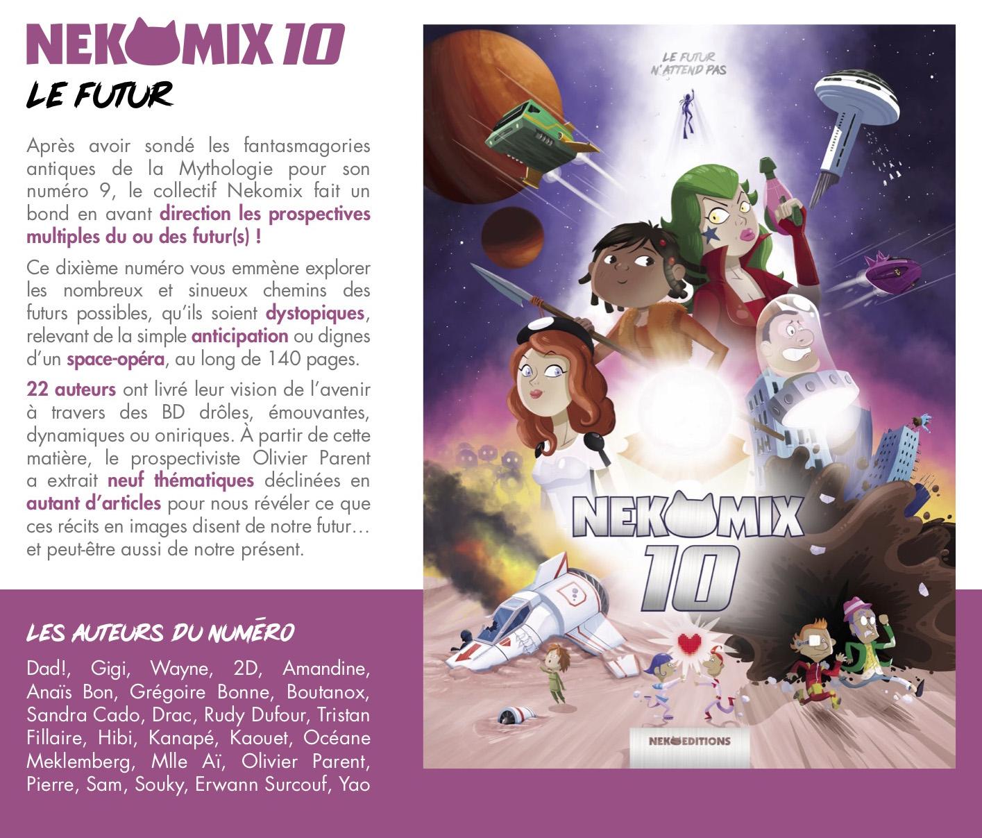 Nekomix n°10 : Le futur n'attend pas !