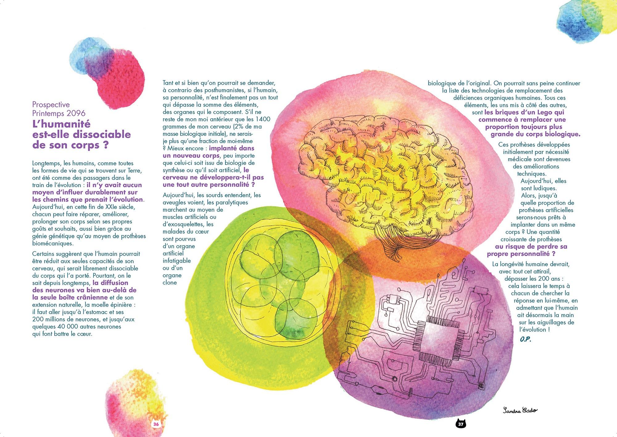 L'humanité est-elle dissociable de son corps biologique ? | Nekomix #03 | 18/02/2069