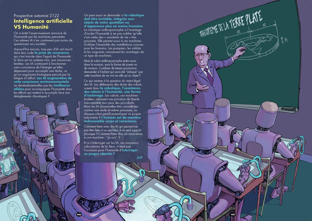Intelligence artificielle versus Humanité : un combat évitable ? | Nekomix #05 | 18/03/2069