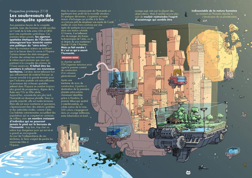 Les soubresauts de la conquête spatiale | Nekomix #08 | 28/05/2069
