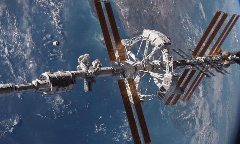Colonisation spatiale | Arrivée attendue au principal port orbital terrien | 22/07/2069