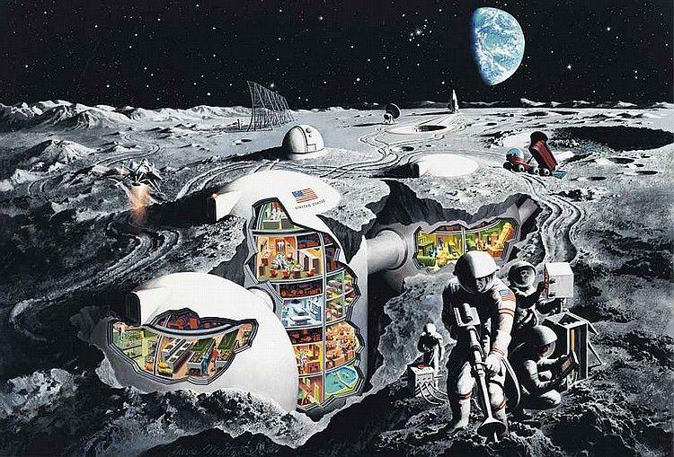 Analyse | Colonisation de la Lune et rétro-prospective : Quand les projets « déraillent »