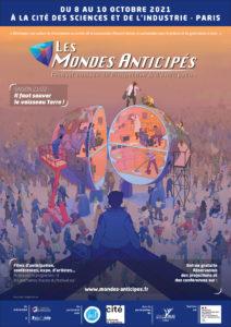 Festival des Mondes Anticipés |Cité des sciences et de l'industrie | 8, 9 et 10/10/21